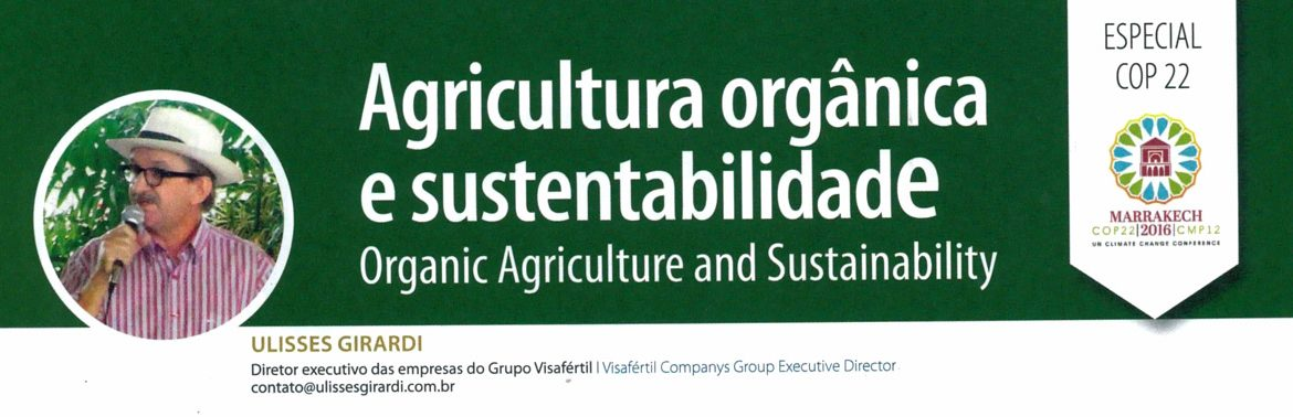 Agricultura orgânica e sustentabilidade (Organic Agriculture and Sustainability)